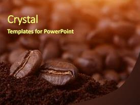 5000+ coffee powerpoint templates w/ coffee-themed backgrounds, Coffee Presentation Template, Presentation templates