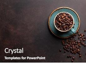 Coffee Beans Powerpoint Templates W Coffee Beans Themed Backgrounds