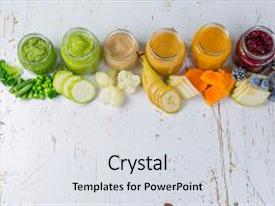Top Baby Food Jar PowerPoint Templates, Backgrounds, Slides