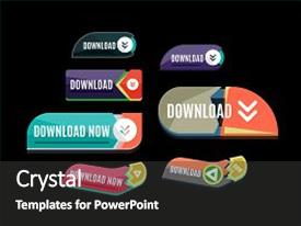 50 metro ui powerpoint templates w metro ui themed backgrounds ppt theme consisting of metro ui colorful download web button background and a dark gray toneelgroepblik Image collections