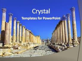 5000 roman column powerpoint templates w roman column themed
