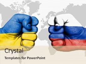 5000 russia ukraine powerpoint templates w russia ukraine themed presentation theme featuring conflict between ukraine and russia background and a lemonade colored foreground toneelgroepblik Images