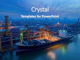 5000+ Port PowerPoint Templates w/ Port-Themed Backgrounds