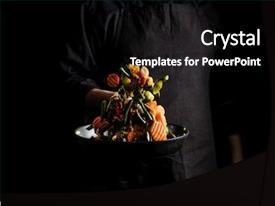 Vegetarian Powerpoint Templates W Vegetarian Themed Backgrounds
