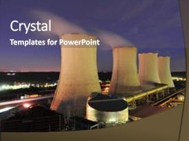 Top Cooling Tower PowerPoint Templates, Backgrounds, Slides