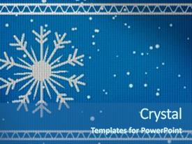top snowflakes powerpoint templates backgrounds slides and ppt themes