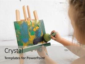 5000 early childhood education powerpoint templates w early slide deck consisting of creative little painter in art studio early childhood education painting process interesting toneelgroepblik Gallery