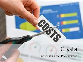 Cost Cutting PowerPoint Templates W Cost CuttingThemed - Best of cost savings template concept