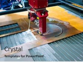 10+ Waterjet Cutting PowerPoint Templates w/ Waterjet