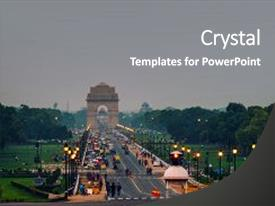 5000 india powerpoint templates w india themed backgrounds cool new ppt theme with car and people traffic backdrop and a gray toneelgroepblik Image collections
