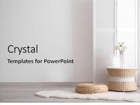PowerPoint Template: interior design apartment modules ...