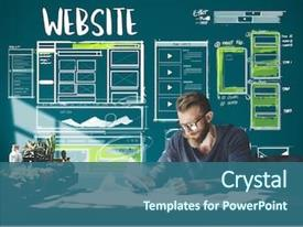 Web Design Powerpoint Templates W Web Design Themed Backgrounds