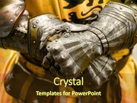 5000 knight powerpoint templates w knight themed backgrounds audience pleasing presentation theme consisting of detail knight armor gloves backdrop and a tawny brown colored toneelgroepblik Choice Image