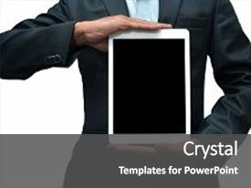 Apple inc powerpoint templates w apple inc themed backgrounds slide deck featuring developed by the apple inc background and a dark gray colored foreground toneelgroepblik Image collections