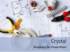 Electrical Powerpoint Templates W Electrical Themed Backgrounds