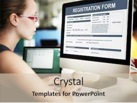 Digital Signature Powerpoint Templates W Digital Signature Themed Backgrounds