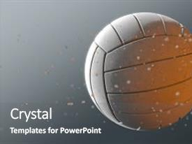 5000 volleyball powerpoint templates w volleyball themed backgrounds beautiful presentation theme featuring dirty white volleyball caught backdrop and a gray colored foreground toneelgroepblik Image collections