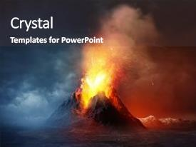 5000 volcano powerpoint templates w volcano themed backgrounds audience pleasing slide set consisting of disaster eruption a large backdrop and toneelgroepblik Image collections