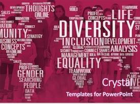 Diversity Inclusion Powerpoint Templates W Diversity