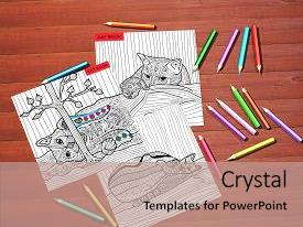 100 drawing expressive art therapy powerpoint templates w drawing colorful ppt theme enhanced with drawing expressive art therapy cat book adult coloring backdrop toneelgroepblik Gallery