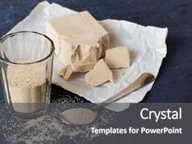 Top yeast powerpoint templates backgrounds slides and ppt themes presentation theme consisting of dry granular yeast background and a dark gray colored foreground toneelgroepblik Gallery