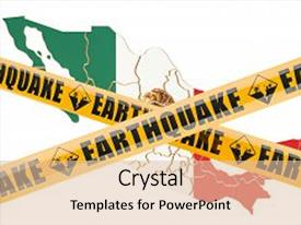 5000 earthquake powerpoint templates w earthquake themed backgrounds cool new presentation design with earthquake in mexico concept 3d rendering isolated on white background backdrop toneelgroepblik Gallery