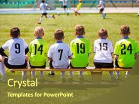 Soccer PowerPoint Templates W SoccerThemed Backgrounds - Awesome football powerpoint template concept