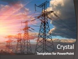 5000 high voltage powerpoint templates w high voltage themed