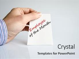 employee of the month ppt