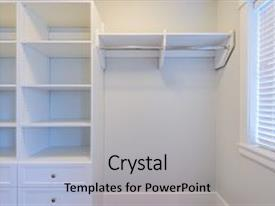 Cool New Slide Deck With Empty Closet Working Closet Cupboard Backdrop And  A Light Gray Colored