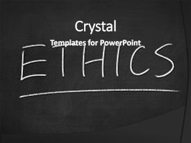 Top ethics powerpoint templates backgrounds slides and ppt themes audience pleasing slide deck consisting of ethics concept word on blackboard backdrop and a dark gray toneelgroepblik Images