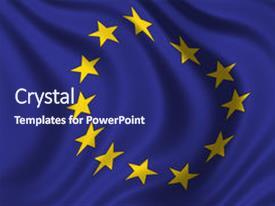 5000 european union powerpoint templates w european union themed presentation theme enhanced with european union waving flag of the eu background and a navy toneelgroepblik Gallery
