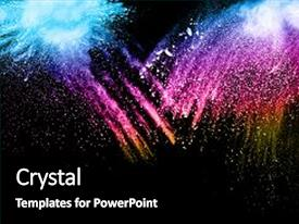 5000 explosion powerpoint templates w explosion themed backgrounds amazing presentation theme having of colored powder on black background freeze motion of toneelgroepblik Gallery