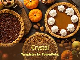 5000 fall powerpoint templates w fall themed backgrounds amazing theme having traditional pies pumpkin pecan and apple crumble pie overhead shot toneelgroepblik Choice Image
