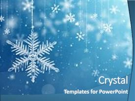 5000 Snowflake Powerpoint Templates W Snowflake Themed Backgrounds