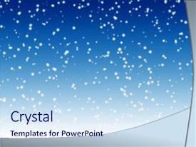 5000 falling snow powerpoint templates w falling snow themed