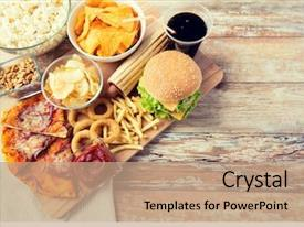 Fast Food Powerpoint Templates W Fast Food Themed Backgrounds