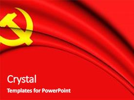 3000 communist powerpoint templates w communist themed backgrounds presentation theme featuring flag of chinese party background and a crimson colored foreground toneelgroepblik Images