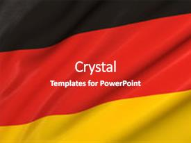 5000 flag german powerpoint templates w flag german themed backgrounds slide deck enhanced with flag of germany background and a colored foreground toneelgroepblik Images