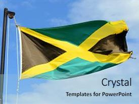 5000 jamaica powerpoint templates w jamaica themed backgrounds cool new presentation theme with flag of jamaica waving backdrop and a light blue colored foreground toneelgroepblik Gallery