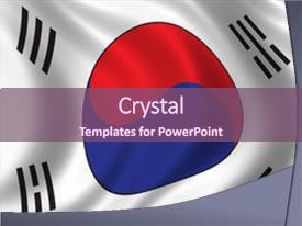 5000 korea flag powerpoint templates w korea flag themed backgrounds slide deck consisting of flag of south korea waving background and a violet colored foreground toneelgroepblik Images