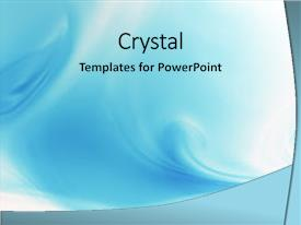 Amazing PPT layouts having flowing blue background backdrop and a arctic colored foreground.