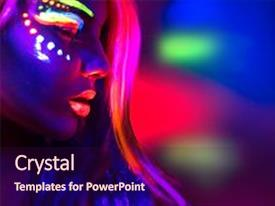 5000 neon colors powerpoint templates w neon colors themed backgrounds