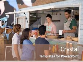 Food Truck Powerpoint Templates W Food Truck Themed Backgrounds