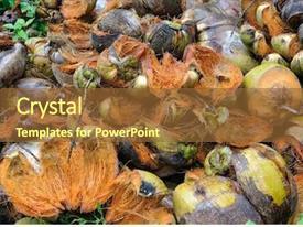 Food Waste Fresh In Garbage Powerpoint Templates W Food