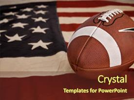 5000 american football powerpoint templates w american football amazing presentation theme having football america s favorite sport backdrop and a tawny brown colored foreground toneelgroepblik Image collections