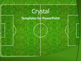 5000 soccer powerpoint templates w soccer themed backgrounds slide deck featuring football field or field background and a forest green colored toneelgroepblik Image collections