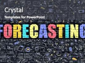 Forecasting PowerPoint Templates W ForecastingThemed Backgrounds - Best of sales forecast template powerpoint concept