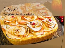 5000 orange gray powerpoint templates w orange gray themed backgrounds amazing presentation having fruit apple pie tartlet cake backdrop and a coral colored foreground toneelgroepblik Choice Image