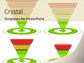 25 inverted pyramid powerpoint templates w inverted pyramid themed
